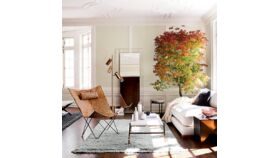 Lillian Marble & Brass Coffee Table image