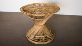 Image of a Benji Rattan Side Table