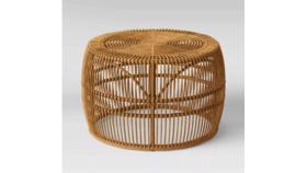 Image of a Kiki Round Rattan Coffee Table