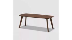 Gio Mid Century Modern Rectangular Coffee Table image