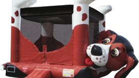 Image of a Beagle Belly Inflatable