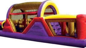 Image of a 40' Obstacle Course Inflatable