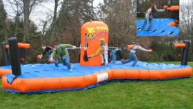 Image of a 4-Way Bungee Challenge Inflatable