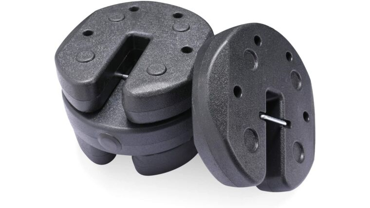 Picture of a 27lb Pop-Up Tent Weights