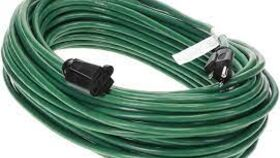 Image of a 100' Extension Cord (Green)