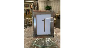 Image of a 1-30 Table Numbers (Silver)