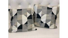Image of a *Neutral Modern Pattern Pillow Set
