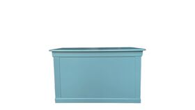 Image of a Sophisticated Teal Bar