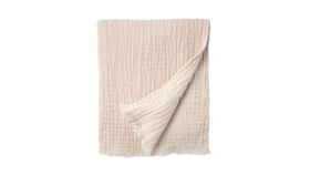 Image of a Blush Throw Blanket