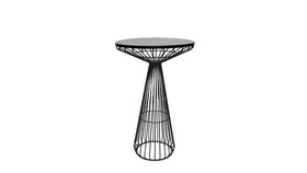 Image of a Mason Black Metal Cocktail Table