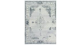 Image of a Abstract Light Grey Rug 8'x11'