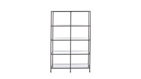 Image of a Back Bar Shelf, Black