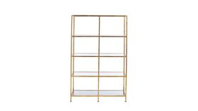 Image of a Back Bar Shelf, Gold