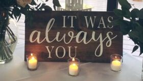 "Image of a ""Always You"" sign"