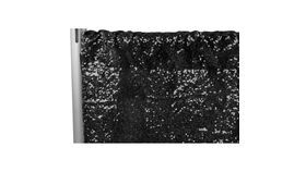 Image of a Backdrop-Sequins Black Drape