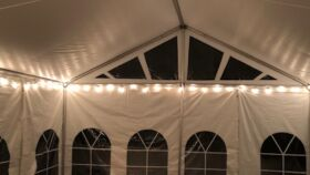 Image of a 100' White String Lights