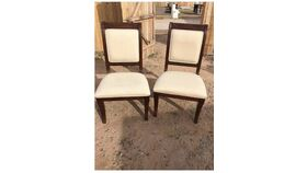Image of a Cream Chairs
