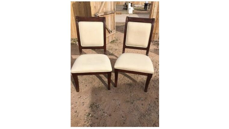 Picture of a Cream Chairs