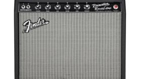 Image of a Fender '65 Princeton Reverb Guitar Amp