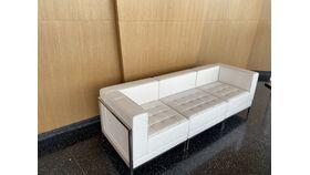 Image of a Barcelona White Sofa