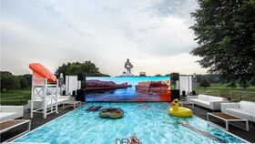 Image of a 8' x 16' LED Video Wall