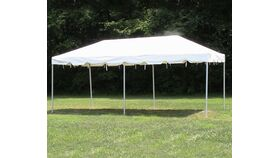 Image of a 10' x 20' White Tents & Canopies