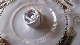 Image of a Technique d'installation serviette