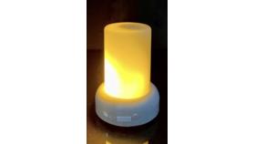 Image of a Mini LED Flame Illusion