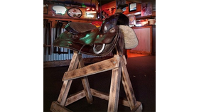 Image of a Horse & Saddle Seat