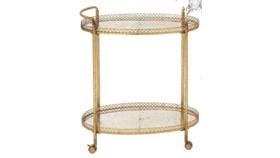 Image of a Gold Bar Cart