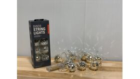 Image of a Disco Ball String Light
