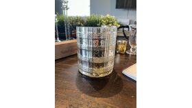 "Image of a 5"" Silver Mercury Vase"