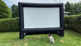 Image of a 20ft Inflatable Projector Screen