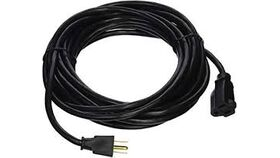 Image of a 100' Black Extension Cord