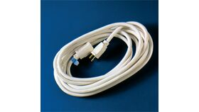 Image of a 100' White Extension Cord