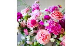 Image of a Bronze Hand-tied Spring Bouquet for Mom Designer's Choice