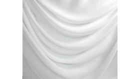 Image of a 27ft White Chiffon Fabric