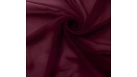 Image of a 27ft Burgundy Chiffon Fabric