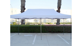 Image of a 10x20' Comercial Pop-Up Tent