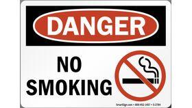 Image of a No Smoking Sign