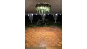 Image of a 18 x 18 Dance Floor- Wood Grain