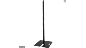 Image of a Black Pole Covers