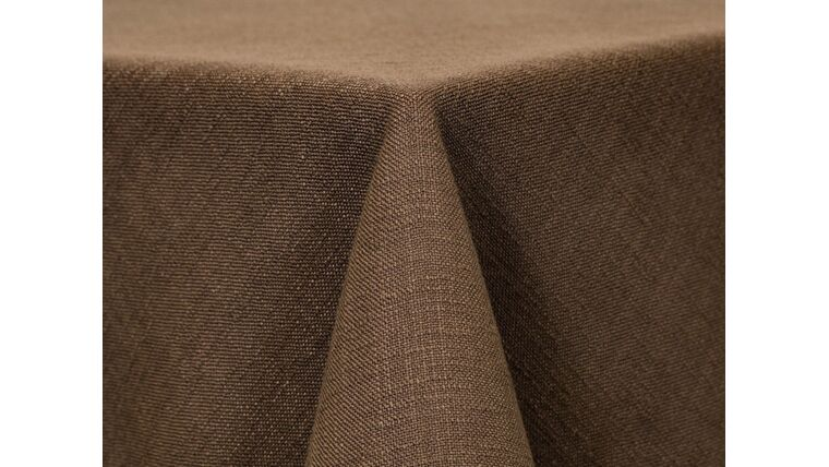 Picture of a Woven Linen Brown Napkin