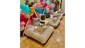 Image of a Tent Birthday Party