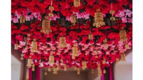 Image of a HANGING FLOWER DECOR