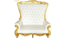 Image of a Double Throne Chair (Love Seat)